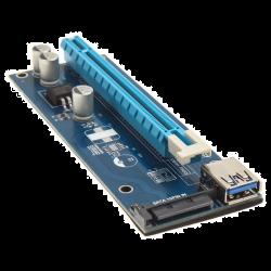Kolink ZURC-008 Riser PCI-express X1 - X16 + táp mining-rendering kit