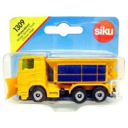 Siku 43161 (9 x 3 x 4 cm) sárga-kék hókotró autó
