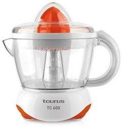Taurus TC600 40 W, 0,7 lit. 2 irányú forgás, levehető tartály, porvédő tető, narancs Citrusprés