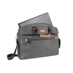 Natec SAOLA 15,6'' szürke notebook táska