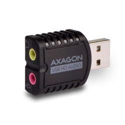 Axagon ADA-17 USB HQ Mini Audio USB fekete hangkártya