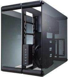 Raijintek Paean ATX Fekete Edzett üveg számítógépház