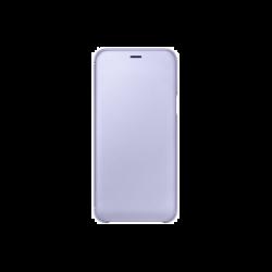 Samsung Galaxy A6 (2018) EF-WA600CVEGWW Wallet műanyag lila flip tok