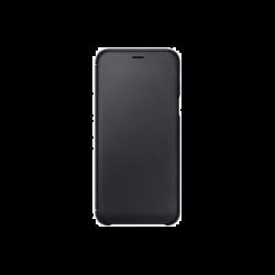 Samsung Galaxy A6 (2018) EF-WA600CBEGWW Wallet műanyag fekete flip tok