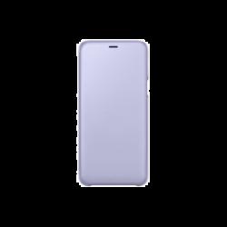 Samsung Galaxy A6+ (2018) EF-WA605CVEGWW Wallet műanyag lila flip tok