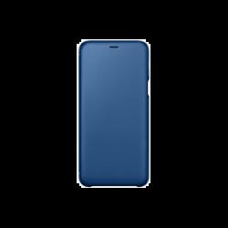 Samsung Galaxy A6+ (2018) EF-WA605CLEGWW Wallet műanyag kék flip tok