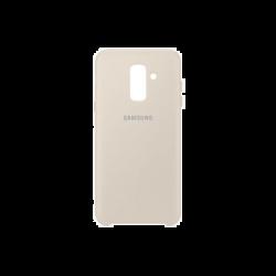 Samsung Galaxy A6+ EF-PA605CFEGWW Dual Layer műanyag arany hátlap tok