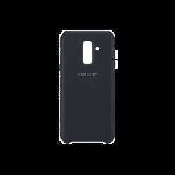 Samsung Galaxy A6+ EF-PA605CBEGWW Dual Layer műanyag fekete hátlap tok