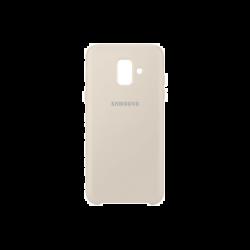 Samsung Galaxy A6 EF-PA600CFEGWW Dual Layer műanyag arany hátlap tok