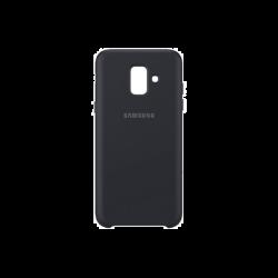 Samsung Galaxy A6 EF-PA600CBEGWW Dual Layer műanyag fekete hátlap tok