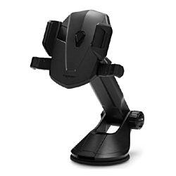 Spigen Kuel Signature TS35 (AP12) tapadókorongos univerzális műszerfalra szerelhető fekete autós tartó