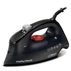 Morphy Richards Breeze 0.35l 2400W fekete/piros gőzölős vasaló