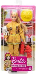 Mattel Barbie (GYJ98/GTN83) tűzoltó baba