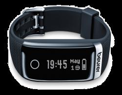 Beurer AS 87 fekete Bluetooth-os aktivitás érzékelő