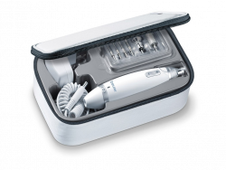 Beurer MP 62 fehér-ezüst manikűr-pedikűr szett