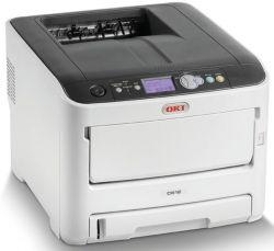 OKI C612n színes, 256MB, USB/Háló, A4 FF 36lap/perc, 34 lap/p szines, 600x1200 dpi LED lézernyomtató