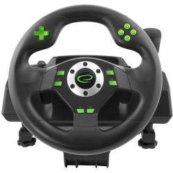 Esperanza EGW101 Drift PC/PS3 fekete-zöld kormány