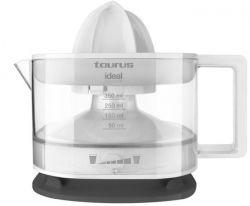 Taurus SPIN SQUEEZER 25 W, 0,25  lit. 2 irányú forgás, levehető tartály, fehér-fekete Citrusprés