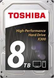 """Toshiba X300 8TB 3.5"""" 7200RPM SATAIII belső merevlemez"""