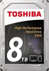 "Toshiba X300 3.5"" 8TB SATA/600 7200RPM 128MB cache BOX belső HDD"