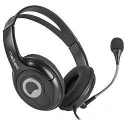 Natec Bear 2, 2x Mini Jack 3,5mm mikrofonos fejhallgató