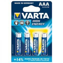 VARTA High Energy 4db 1.5V AAA ceruza elem