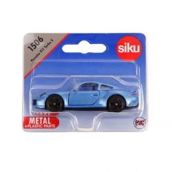 Siku 49342 (8 cm) kék Porsche 911 Turbo S