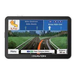 """NAVON A500FEU Élettartam 5"""" Európa (46 ország) IGO szoftver fekete GPS navigáció"""