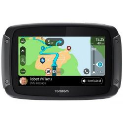 Tomtom Rider 550 Örökös frissítés, Világtérkép, WIFI fekete navigáció
