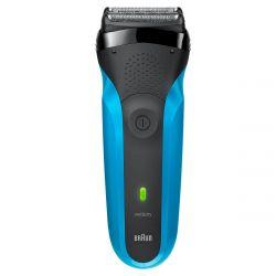 Braun Series 3 310s fekete/kék férfi borotva