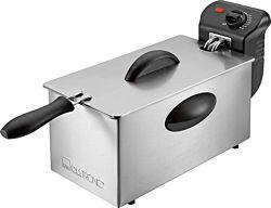 Clatronic FR 3586 Fryer 3 L, 2000 W ezüst-fekete olajsütő