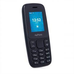 "myPhone 3330 1.77"" 32 MB Dual SIM 2G fekete mobiltelefon"