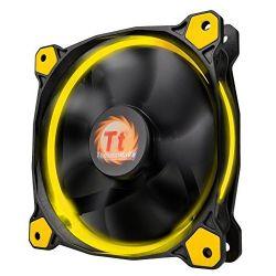 Thermaltake Riing 14cm Sárga LED Ventilátor