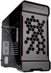 Phanteks Enthoo Evolv ATX Flow Edition Edzett üveg Ezüst Számítógépház