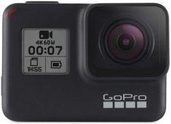 GoPro HERO7 Black Wi-Fi + Bluetooth, 4K 60 fps fekete akciókamera