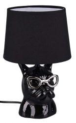 Trio R50231002 Dosy IP20, E14 fekete asztali lámpa