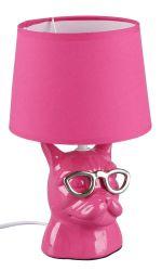 Trio R50231093 Dosy IP20, E14 rózsaszín asztali lámpa