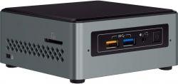 Intel NUC6CAYH, J3455, DDR3-1866, HDMI fekete-szürke barebone PC