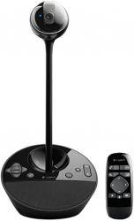 Logitech BCC950 1080p, 720p, távirányító fekete asztali videokonferencia-rendszer