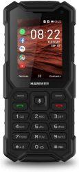 """myPhone Hammer 5 Smart 2.8"""" 4GB Dual SIM 4G/LTE fekete csepp-, por- és ütésálló mobiltelefon"""
