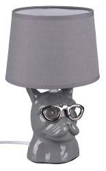 Trio R50231011 Dosy IP20, E14 szürke asztali lámpa