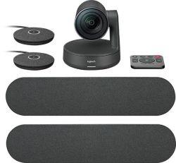 Logitech Rally Ultra HD Conference fekete kamera