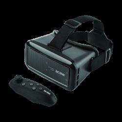 """ACME VRB01RC 4""""-6"""" távirányítóval fekete virtuális valóság szemüveg okostelefonhoz"""