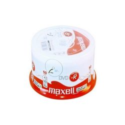 MAXELL -R 4.7GB 50db/Henger 16x Nyomtatható DVD lemez