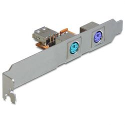 Delock 2 x PS/2 USB bővítő panel