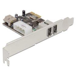 Delock 89121 1 x belső + 2 x külső  FireWire 1394A PCI-E kártya
