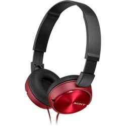 Sony MDRZX310R.AE piros fejhallgató