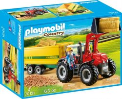 Playmobil® (70131) Country Traktor utánfutóval