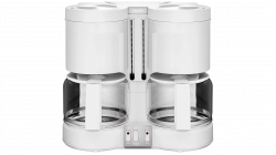 Krups KM 8501 Duothek Plus 1.7l 1450W fehér eszpresszó kávéfőző