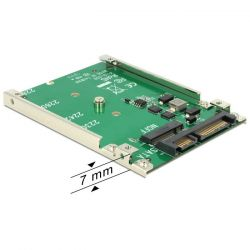 Delock 2.5'' SATA 22 Pin - M.2 NGFF konverter